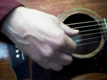 right hand closeup