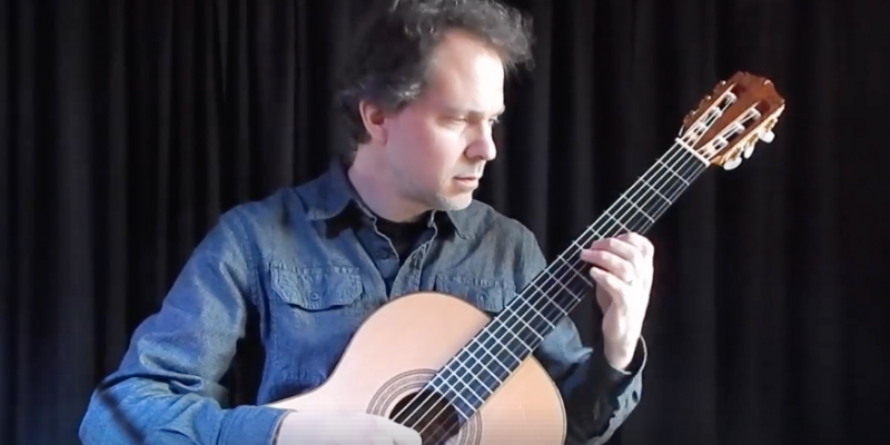 Dave Isaacs on classical guitar